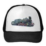 Steam Engine Train Mesh Hat