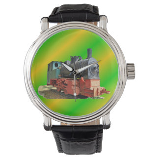 Steam engine watch