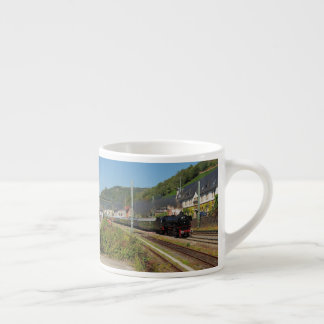 Steam engine with special train in Lorch Espresso Cup