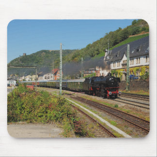 Steam engine with special train in Lorch Mouse Pad