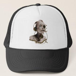 steam giger trucker hat