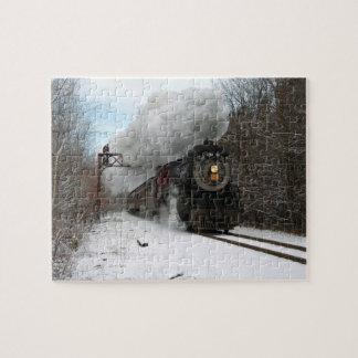 Steam in Winter Puzzle