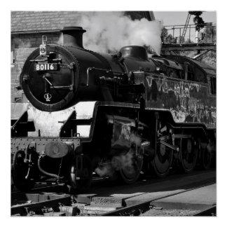 Steam Locomotive 80116 Poster