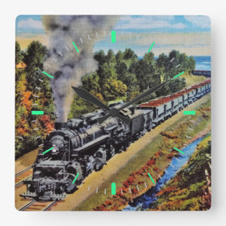 Steam Locomotive Clock