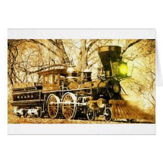 Steam Locomotive General Card