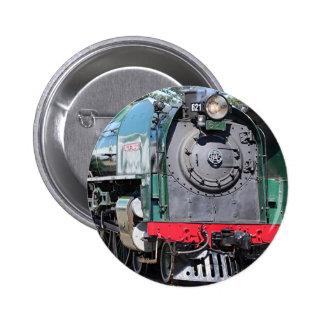Steam Locomotive, Goolwa, South Australia 2 Inch Round Button