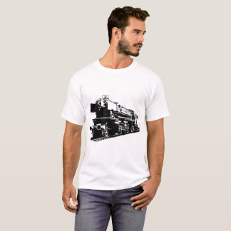 Steam Locomotive - High Contrast T-Shirt