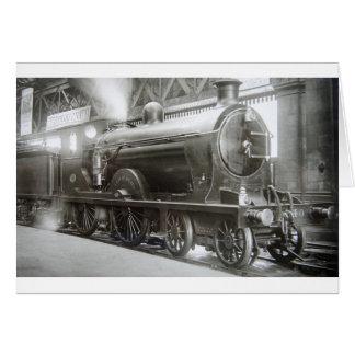 Steam Locomotive (Lady of Avenal) Card
