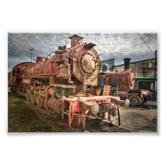 Steam Locomotive Photo Print
