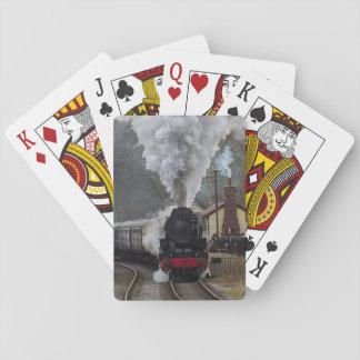 Steam Locomotive Poker Deck