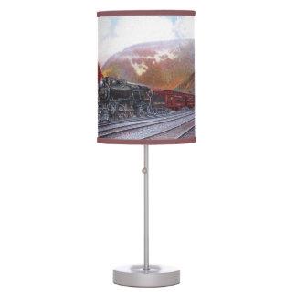 Steam Locomotive Table Lamp
