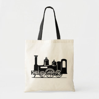 Steam Locomotive Tote Bag
