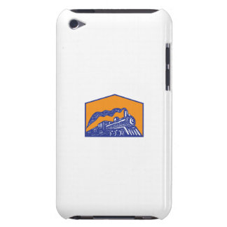 Steam Locomotive Train Coming Crest Retro iPod Touch Cases