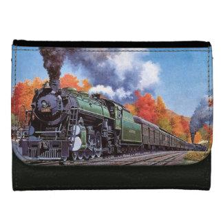 Steam Locomotive Women's Wallet