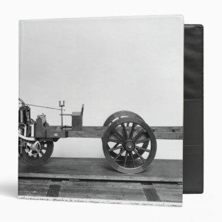 Steam-powered car invented binder