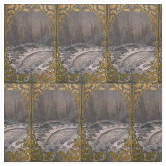 Steam Punk Forest Fabric