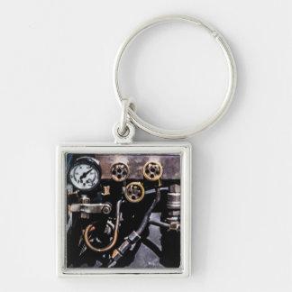Steam Punk Gears and Gauges Keychain