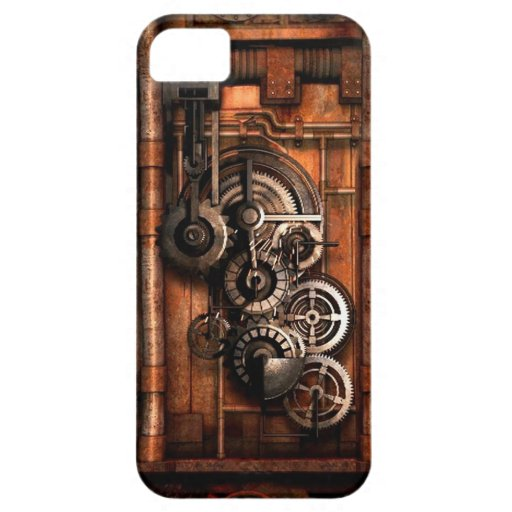 Steam Punk Gears and Rivets iPhone 5/5S Case