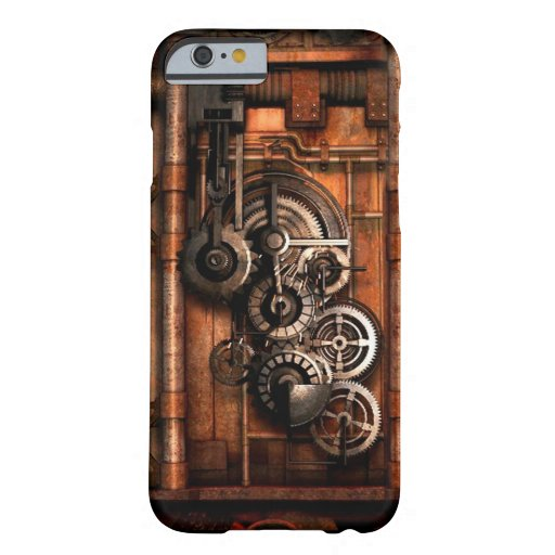 Steam Punk Gears and Rivets iPhone 6 Case