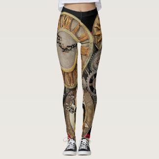 Steam Punk Leggings Womens Clothing Yoga Pants