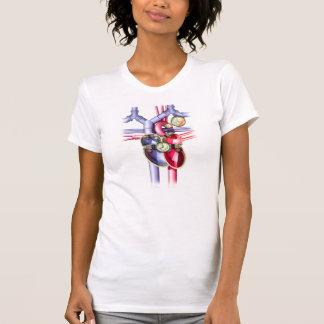 Steam Punk mechanical heart T-Shirt