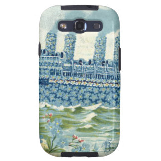Steam Ship Forget Me Not Clover Galaxy S3 Cases