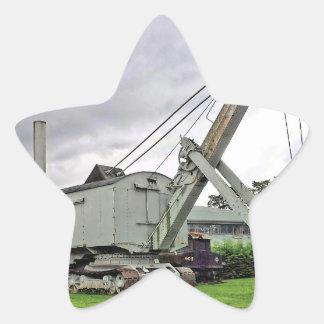 steam shovel 1 star sticker