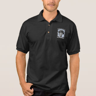 Steam Skullabee Polo Shirt