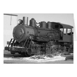 Steam Train 5x7 Card