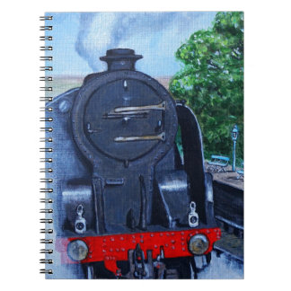 Steam Train at the Station Notebook