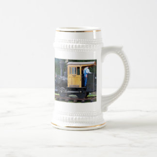 Steam Train Beer Stein