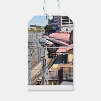 STEAM TRAIN BRISBANE AUSTRALIA GIFT TAGS