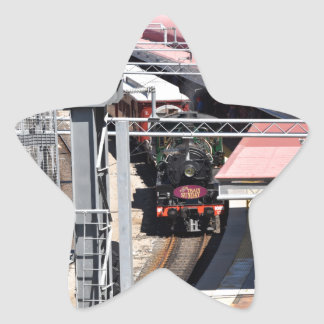 STEAM TRAIN BRISBANE AUSTRALIA STAR STICKER