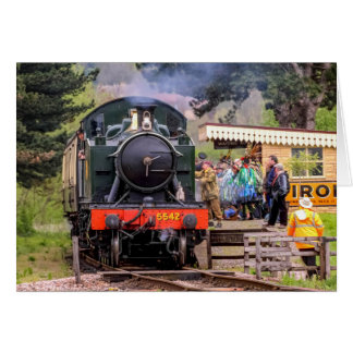 Steam Train Card