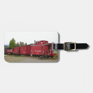 Steam train carriage accommodation, Arizona Luggage Tag