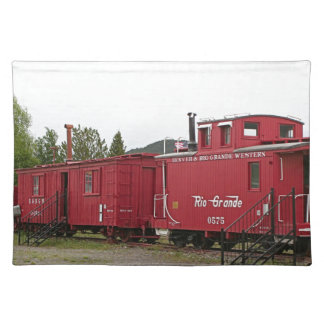 Steam train carriage accommodation, Arizona Placemat