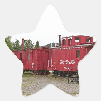 Steam train carriage accommodation, Arizona Star Sticker