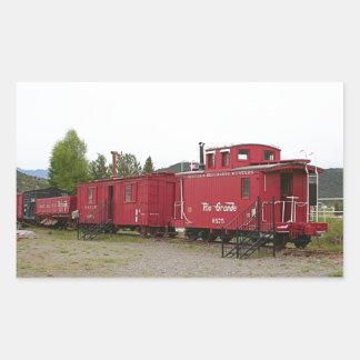 Steam train carriage accommodation, Arizona Sticker