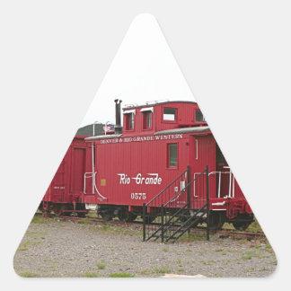 Steam train carriage accommodation, Arizona Triangle Sticker