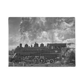 STEAM TRAIN DOORMAT
