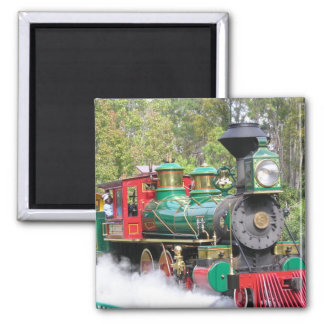 Steam train engine magnet