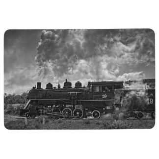STEAM TRAIN FLOOR MAT