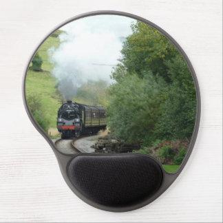 Steam Train Gel Mousepad