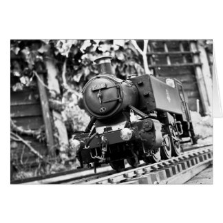 Steam train happy Birthday Card