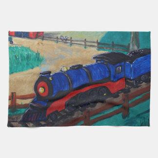 Steam Train Kitchen Towels