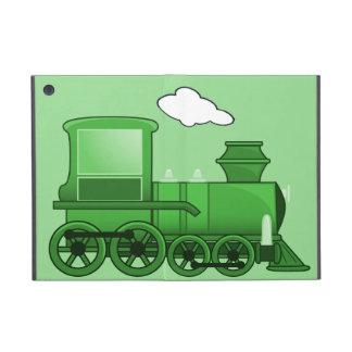 Steam Train Loco Green Art Cover For iPad Mini
