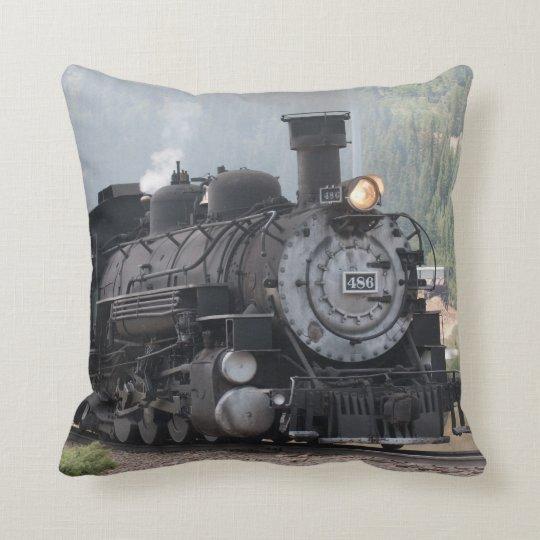 Steam Train Pillow