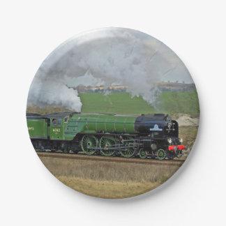 Steam train plates
