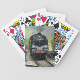 Steam Train Playing Cards