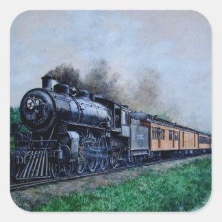 Steam Train Stickers